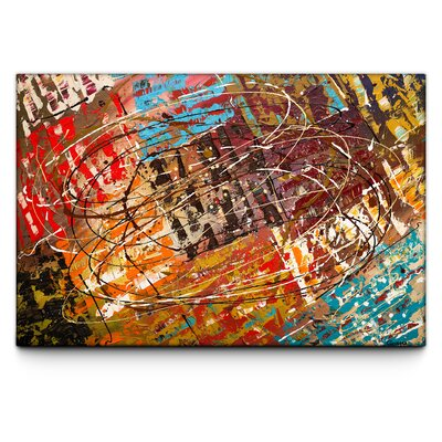 Le Monde By Carmen Guedez Painting Print On Canvas