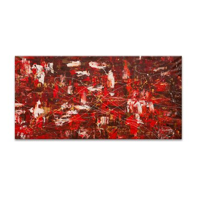 Red Matter By Carmen Guedez Painting Print On Canvas