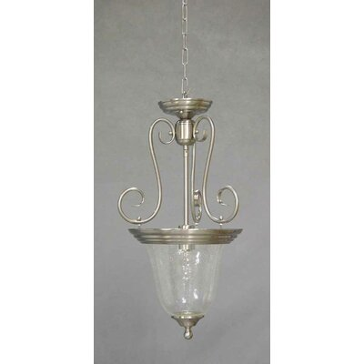 Rhodes 1-Light Pendant Finish: Brushed Nickel