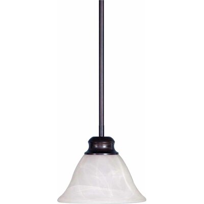Troy 1-Light Mini Pendant Finish: Antique Bronze