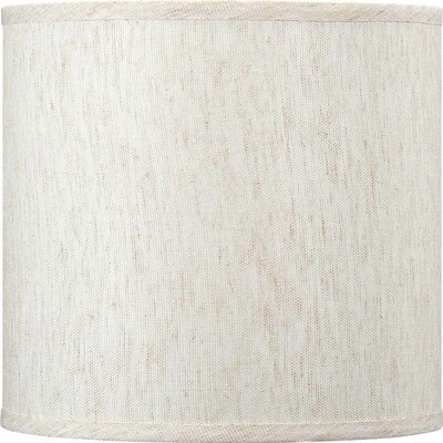 10 Linen Drum Wall Sconce Shade