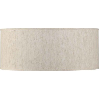 16 Linen Drum Pendant Shade