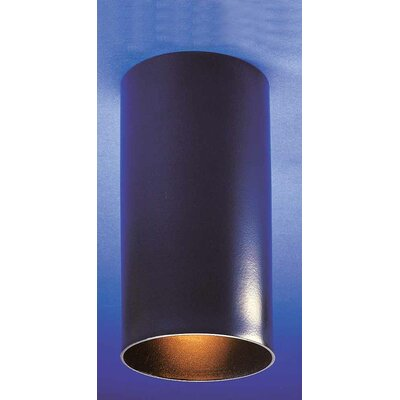Cammi 1-Light Ceiling Fixture Flush Mount Finish: Black