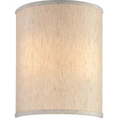 9 Linen Drum Wall Sconce Shade