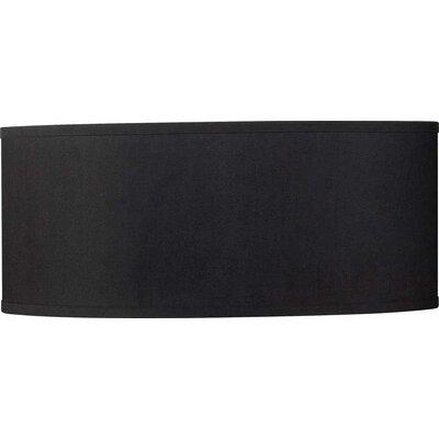 20 Drum Pendant Shade Color: Black