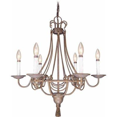 Kuta 6-Light Candle-Style Chandelier