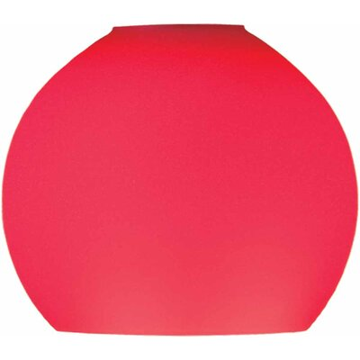 4 Glass Sphere Pendant Shade Shade Color: Red