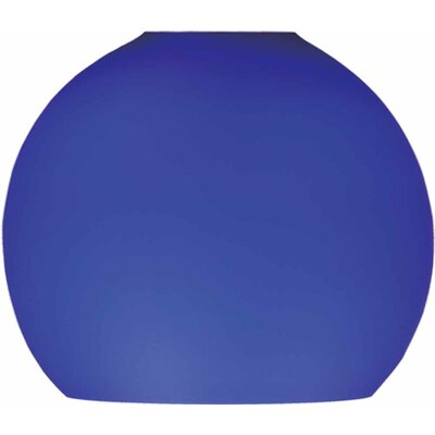 4 Glass Sphere Pendant Shade Shade Color: Blue