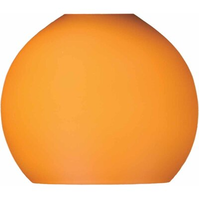 4 Glass Sphere Pendant Shade Shade Color: Amber