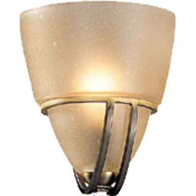 5.5 Glass Novelty Wall Sconce Shade Shade Color: Sepia