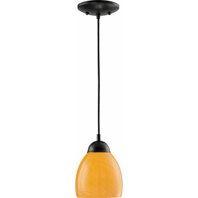 1-Light Mini Pendant Finish: Antique Bronze