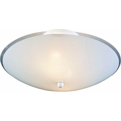 3-Light Ceiling Fixture Semi-Flush Mount