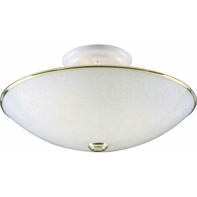 3-Light Ceiling Fixture Flush Mount