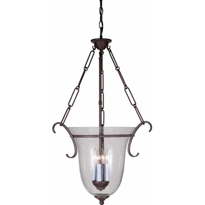 4-Light Bowl Pendant Finish: Prairie Rock
