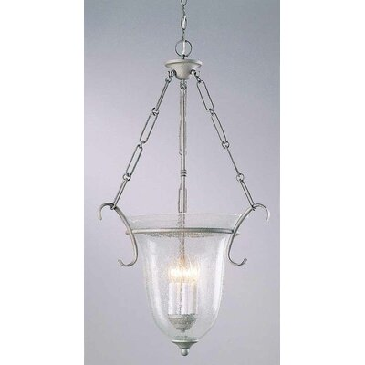 4-Light Bowl Pendant Finish: Platinum Rust