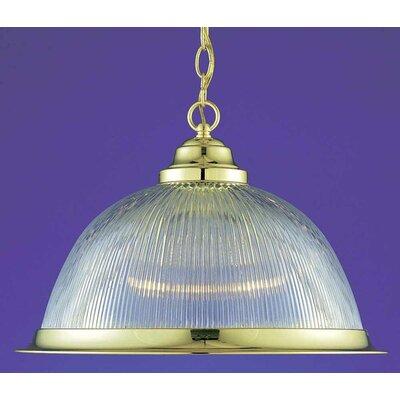 Roth 1-Light Inverted Pendant Finish: Polished Brass