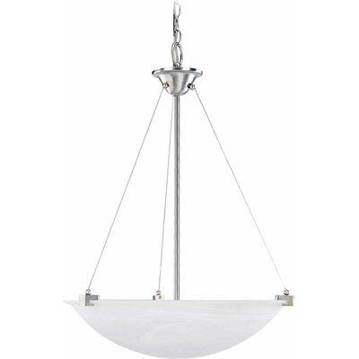 3-Light Bowl Pendant