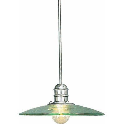 Edo 1-Light Mini Pendant Size: 7 H x 18 W x 18 D