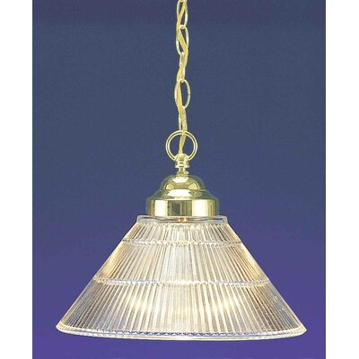 1-Light Mini Pendant Finish: Polished Brass