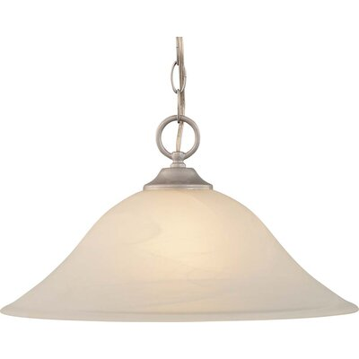 Hammond 1-Light Inverted Pendant Finish: Nickel