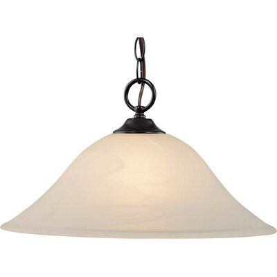 Kim 1-Light Inverted Pendant Finish: Antique Bronze