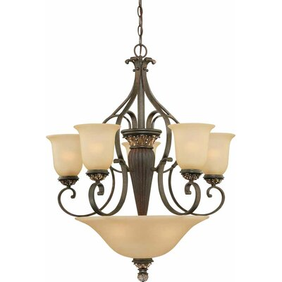 Bristol 8-Light Candle-Style Chandelier