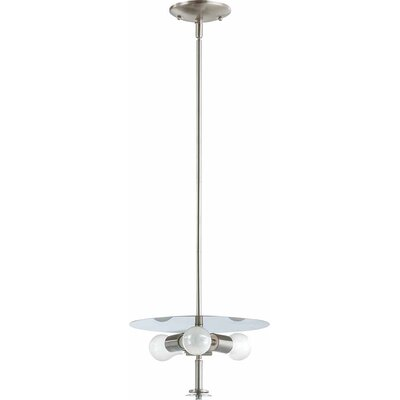 Esprit 3-Light Mini Pendant Finish: Brushed Nickel