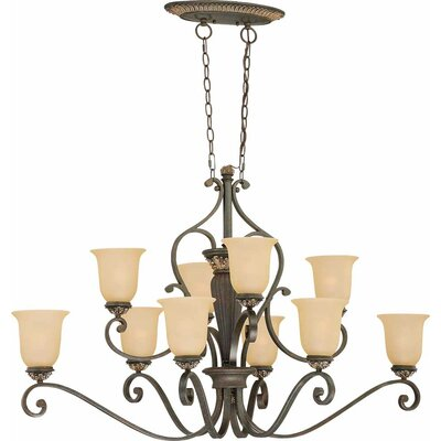 Bristol 10-Light Candle-Style Chandelier