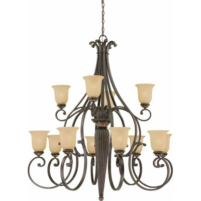 Bristol 12-Light Candle-Style Chandelier