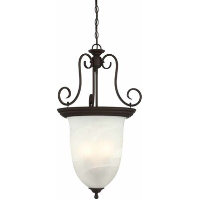 Troy 4-Light Bowl Pendant Finish: Antique Bronze