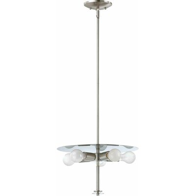 Esprit 5-Light Mini Pendant Finish: Brushed Nickel