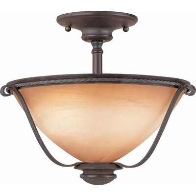 Altamonte 2-Light Semi Flush Mount