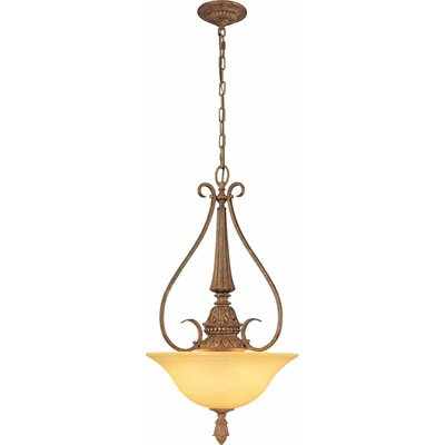 Capri 3-Light Bowl Pendant