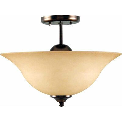 Minster 3-Light Semi Flush Mount