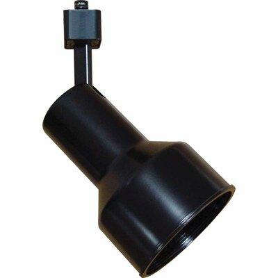 1-Light Track Head Finish: Black, Size: 4 H x 8.5 W x 8.5 D