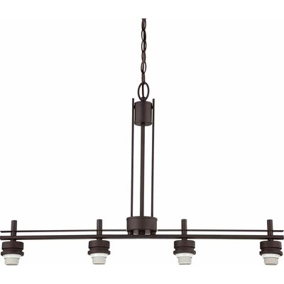 Carena 4-Light Kitchen Island Pendant