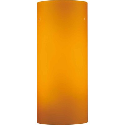 4.75 Glass Drum Pendant Shade Color: Amber