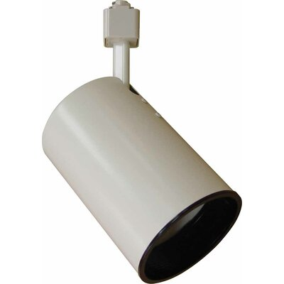 1-Light Track Head Finish: White, Size: 3.5 H x 8.75 W x 8.75 D