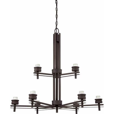 Carena 9-Light Shaded Chandelier
