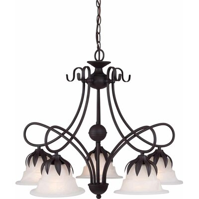 Raleigh 5-Light Shaded Chandelier