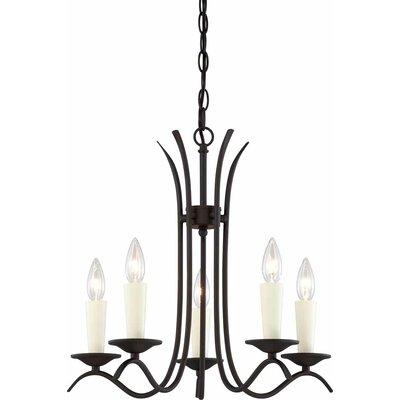 Greta 5-Light Candle-Style Chandelier