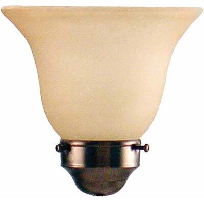 6 Sandstone Glass Bell Pendant Shade