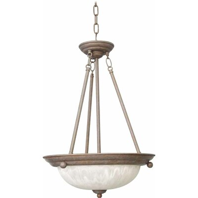 Emington 3-Light Bowl Pendant Finish: Prairie Rock