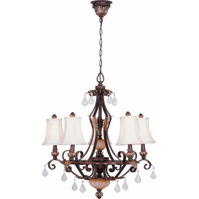 Andalusia 5-Light Shaded Chandelier