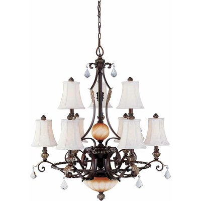 Andalusia 9-Light Candle-Style Chandelier