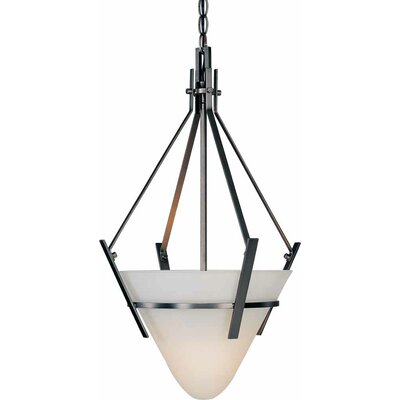 Architectural 1-Light Bowl Pendant