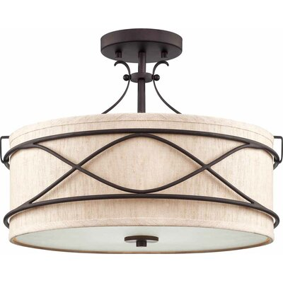 Giovanni 2-Light Semi Flush Mount
