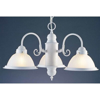 Roth 3-Light Shaded Chandelier