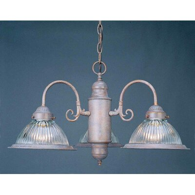 Roth 3-Light Shaded Chandelier Finish: Prairie Rock