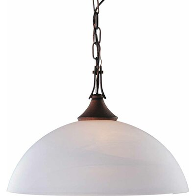 Durango 1-Light Inverted Pendant Finish: Italian Dusk